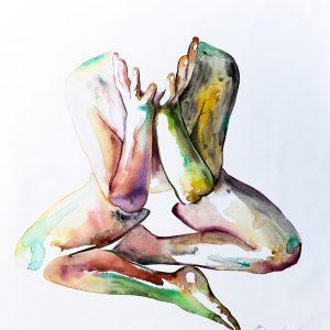 body nude contemporary modern art