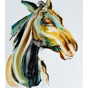 horse art print animals