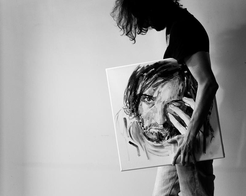 matteo bernasconi artist emerging australia modern art