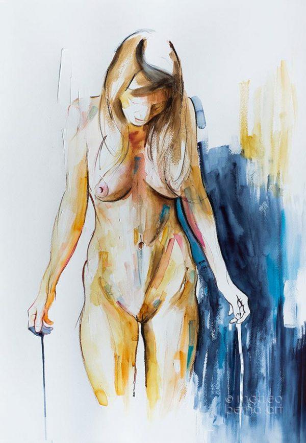 modern art painting nude on sale