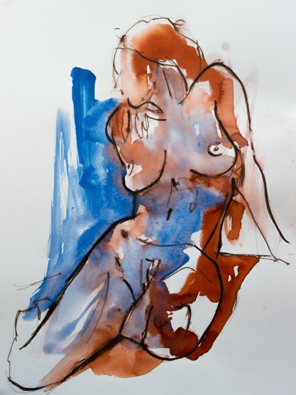 painting ink modern art model sale