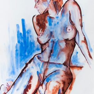 painting on sale original unique nude modern art