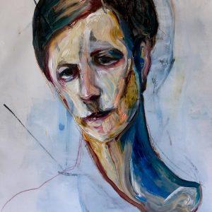 modern unique art painting Australia artist