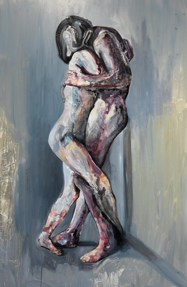 Bernasconi matteo The Weave oil painting sydney Artist