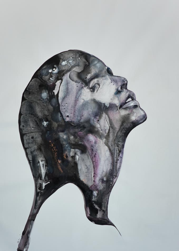 painting on sale art sydney abstract portrait