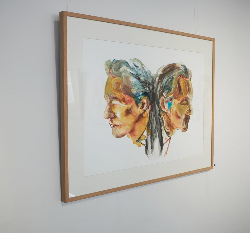 painting portrait art sydney modern art