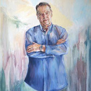 portrait commission local artist sydney best oil
