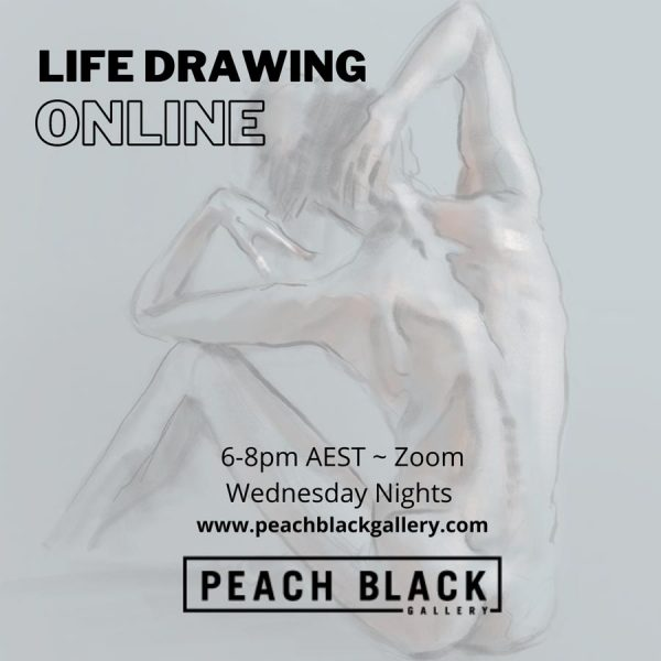 Life drawing online model