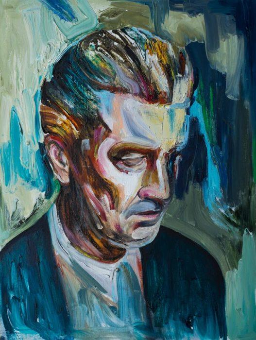 Art oil Matteo Bernasconi