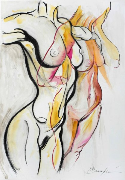 beautiful nude matteo bernasconi contemporary modern unique emerging artist
