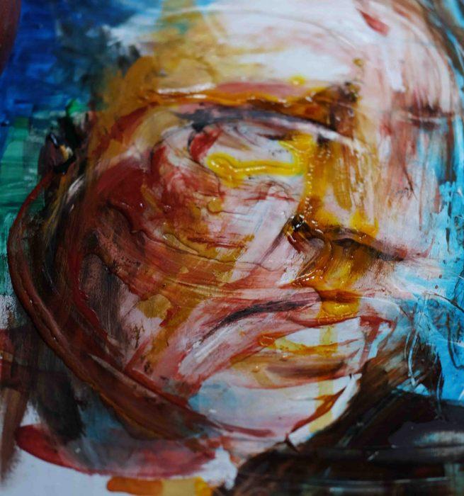 contemporary portrait modern art
