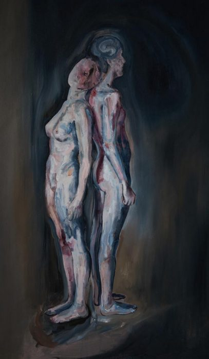 contemporary art nude body australia buy