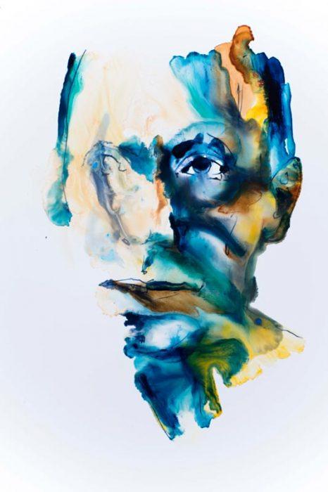 portrait modern art contemporary artist
