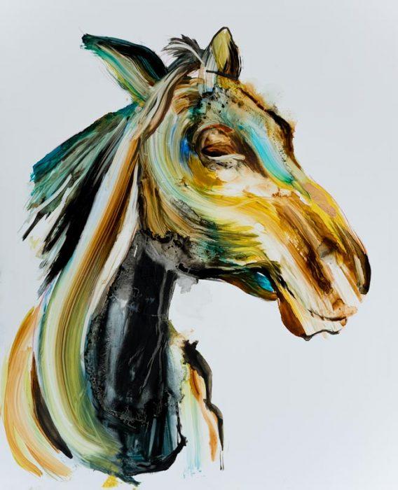 unique style horse animal painting art best
